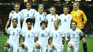 England's women will be hoping positive performances on the pitch in Canada will have a positive impact on the game's status back home. Photo: BBC Sport