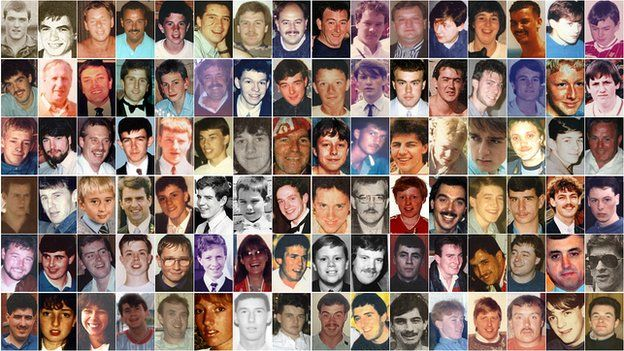 96 Liverpool fans died following the Hillsborough disaster in 1989